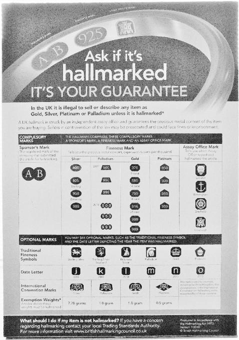 hallmarking glasgow