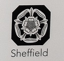 Sheffield depicted by a Rose