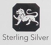 Fineness symbol Lion Passant