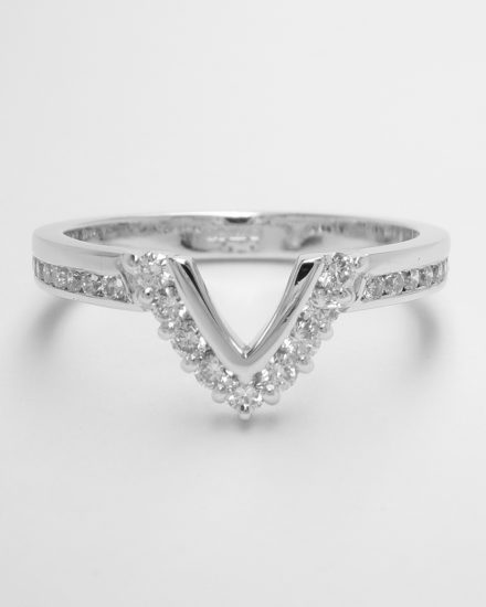9 stone round brilliant cut diamond part channel set platinum wedding - eternity ring with channel set diamond shoulders shaped to fit around marquise diamond ring.